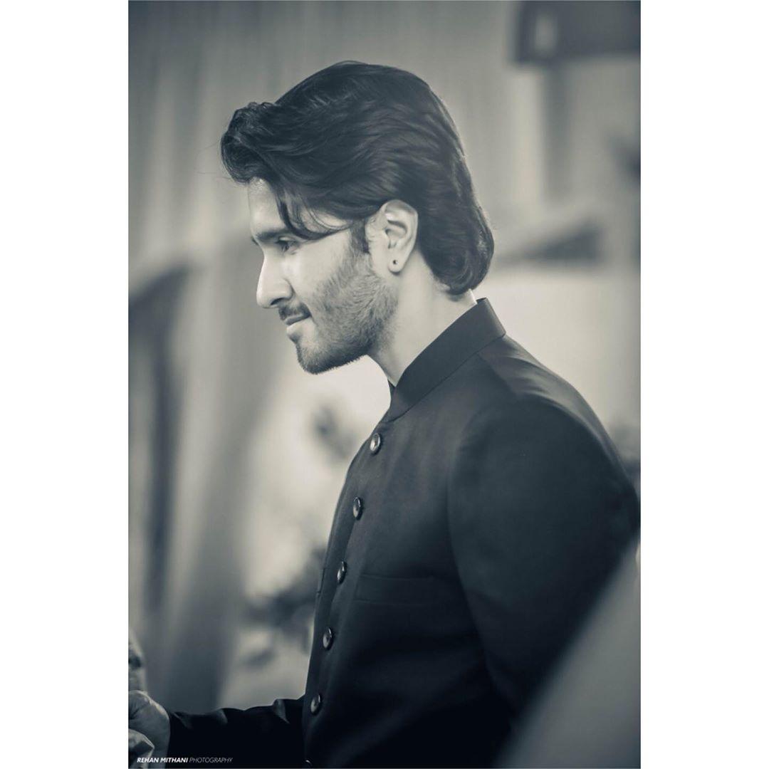 Hania Amir and Feroze Khan Beautiful Clicks from Shoot of Drama Ishqiya