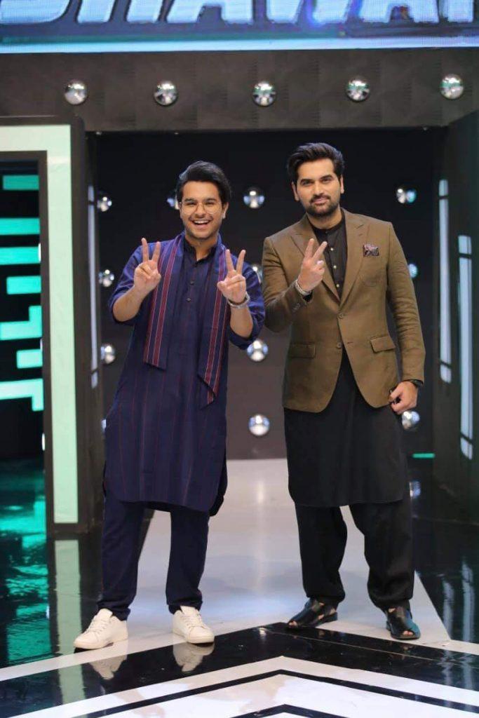 Asim Azhar And Kinza Hashmi On Jeeto Pakistan League