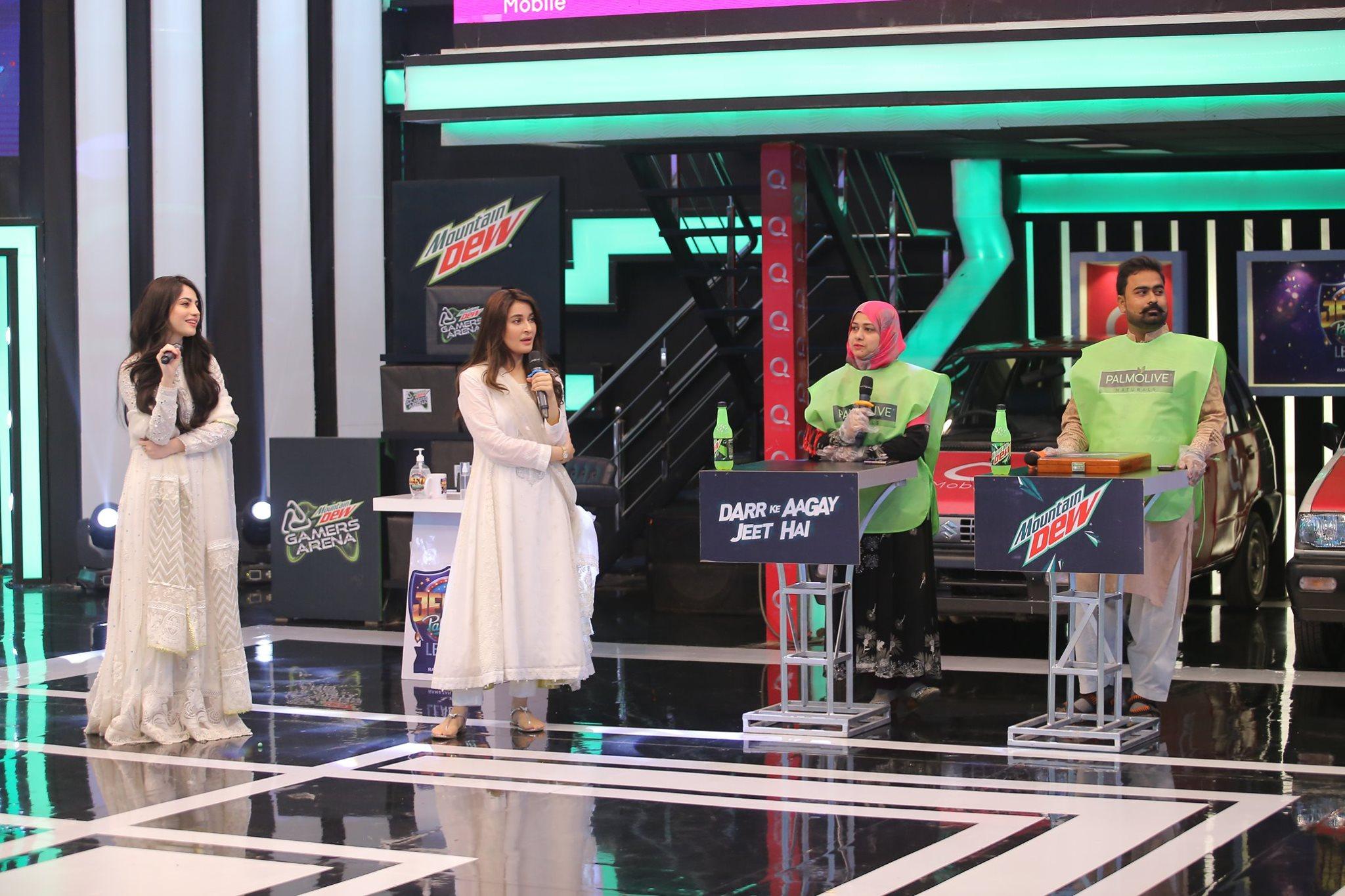 Neelum Muneer and Ali Rehman in Jeeto Pakistan Ramazan Special