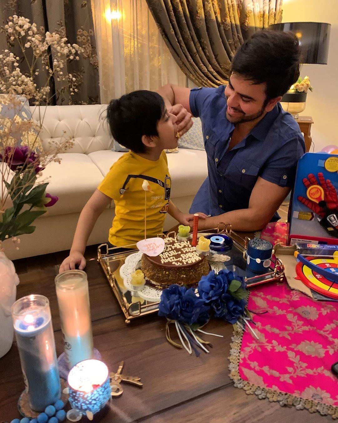Junaid Khan Celebrated His Son 6th Birthday - Beautiful Clicks