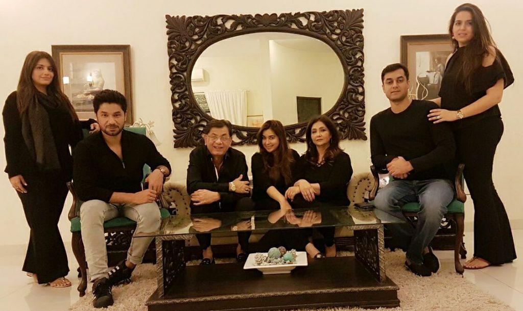 Komal Rizvi Family 9
