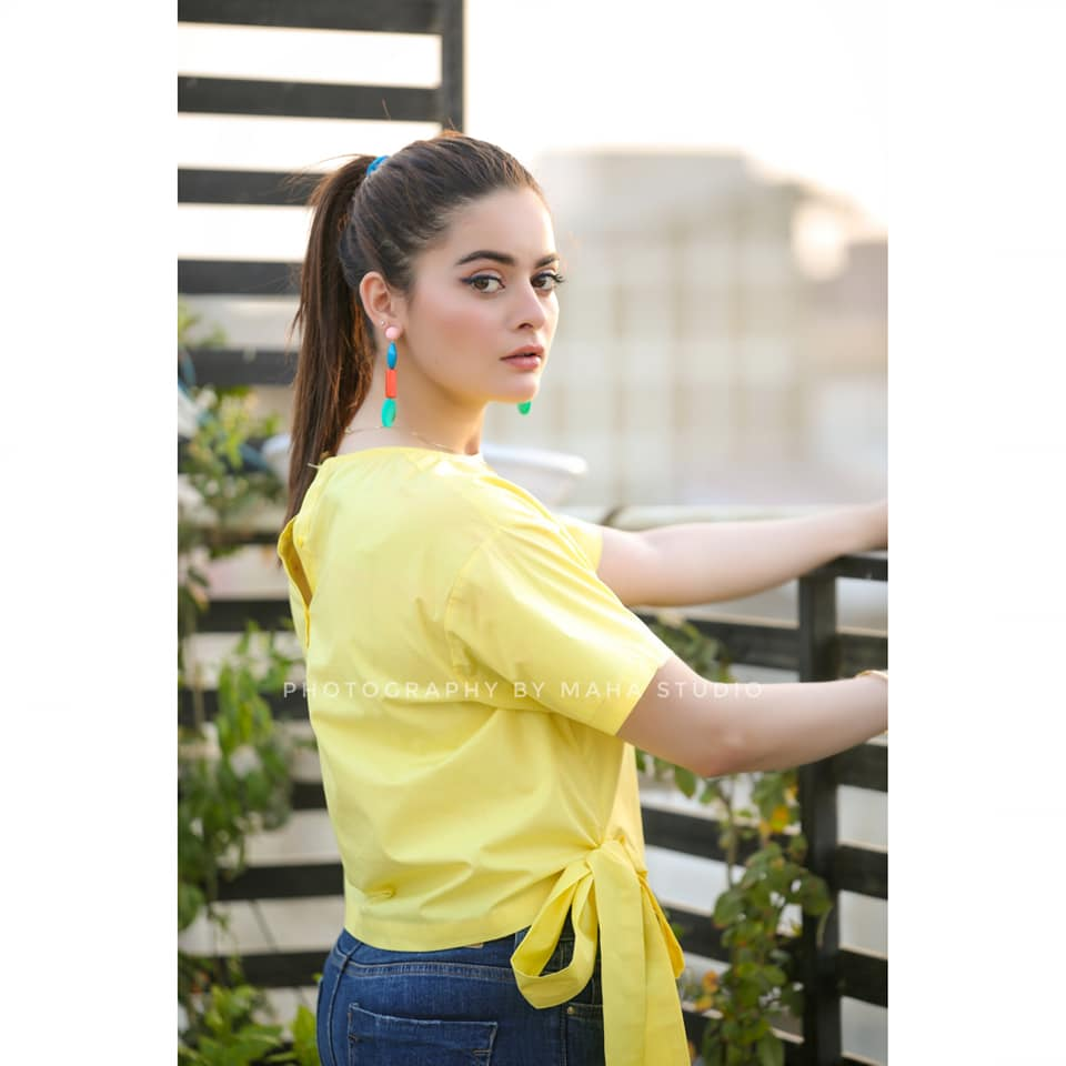 Minal Khan is Looking gorgeous in This Yellow Dress
