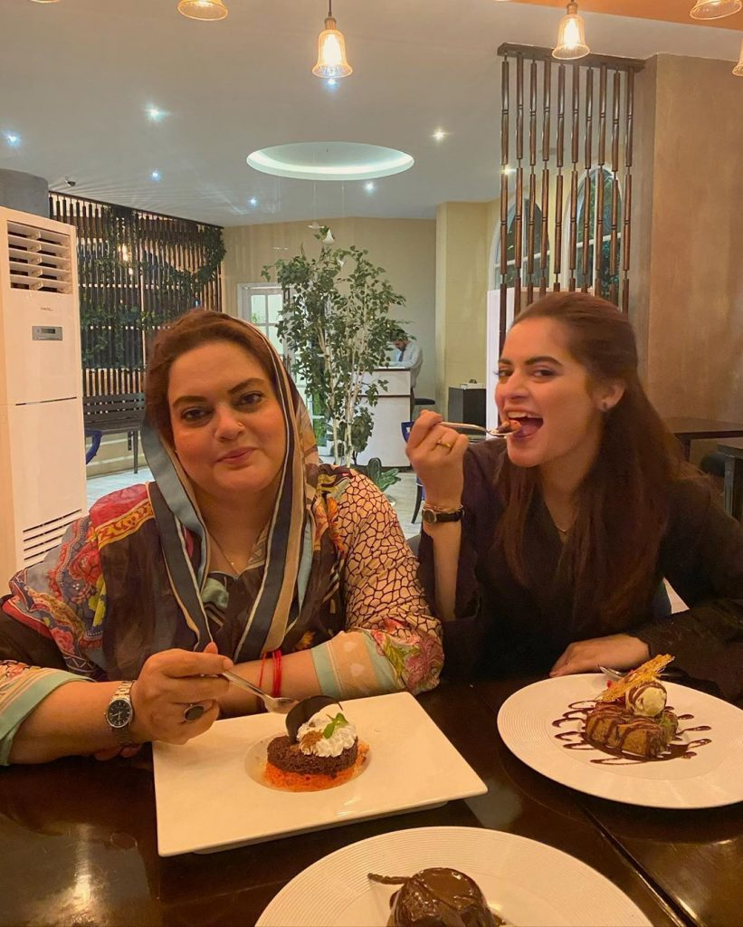 Minal Khan Found Adorable Act Of Her Mother