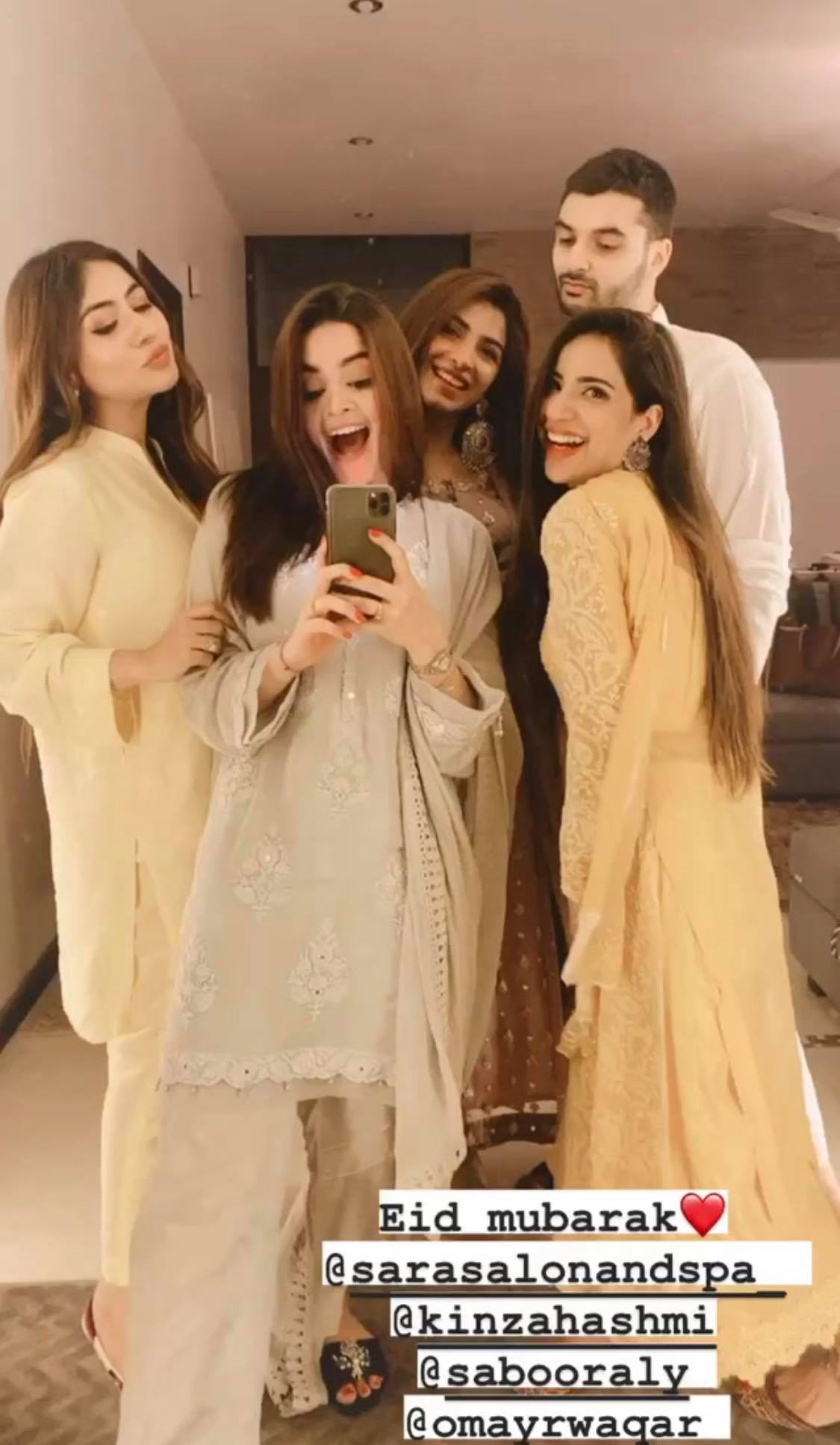 How Top Pakistani Celebrities Celebrated Eid This Year