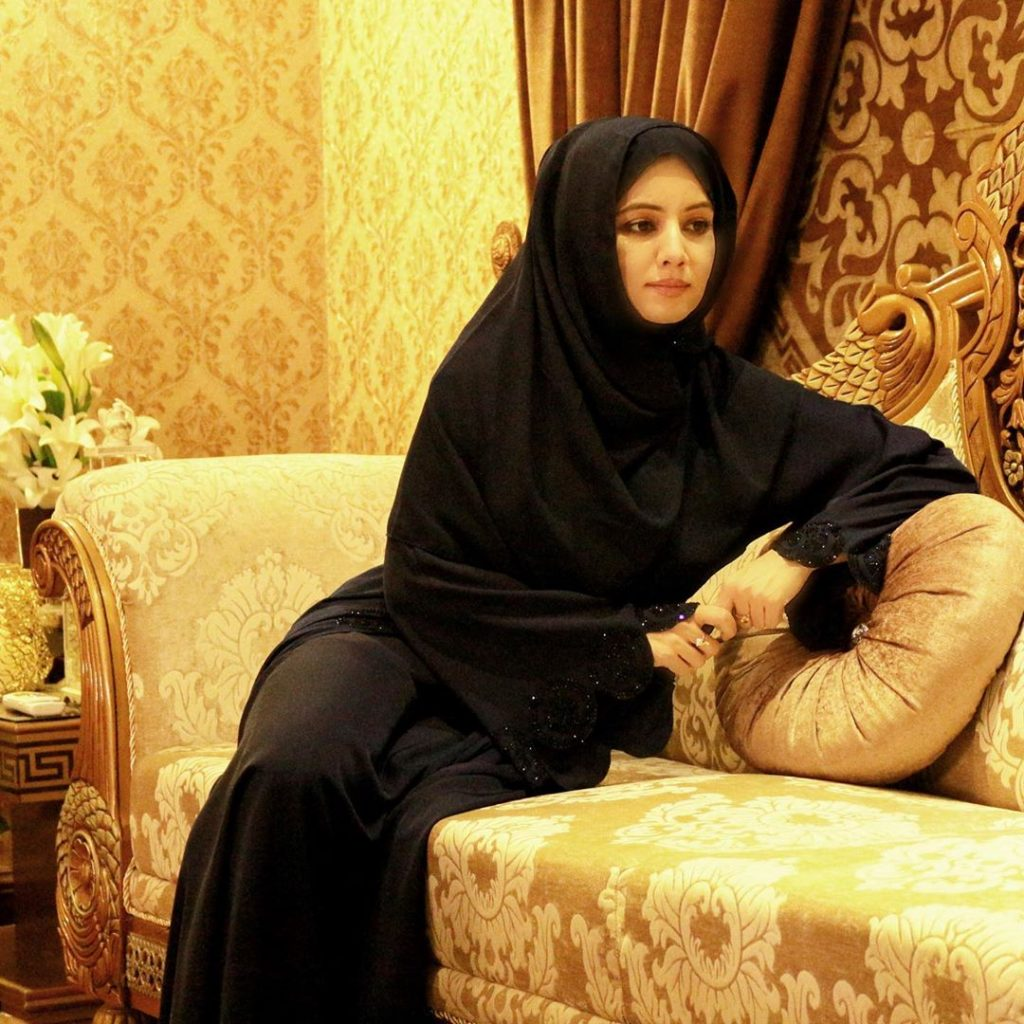 Rabi Pirzada Launching Abaya And Hijab Brand