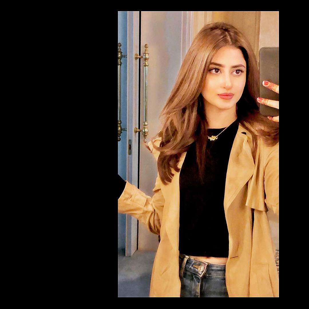Sajal Aly And Ahad Raza Mir Latest Pictures from Instagram