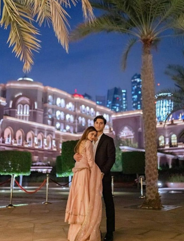 Ahad Raza Mir Shares New Pictures From Destination Wedding