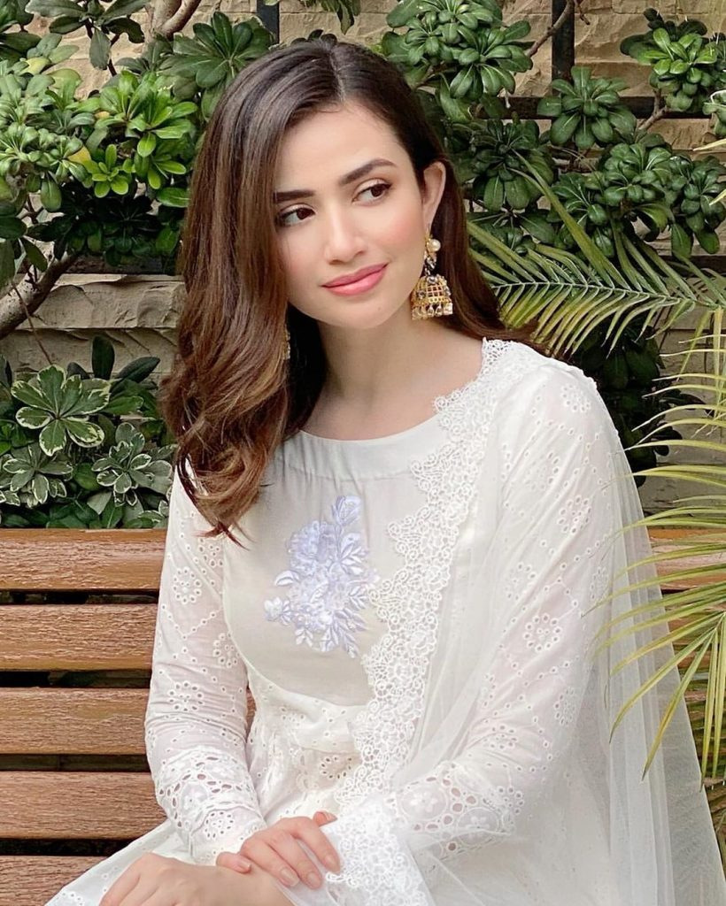 Sana Javed Slaying In Eid Pictures