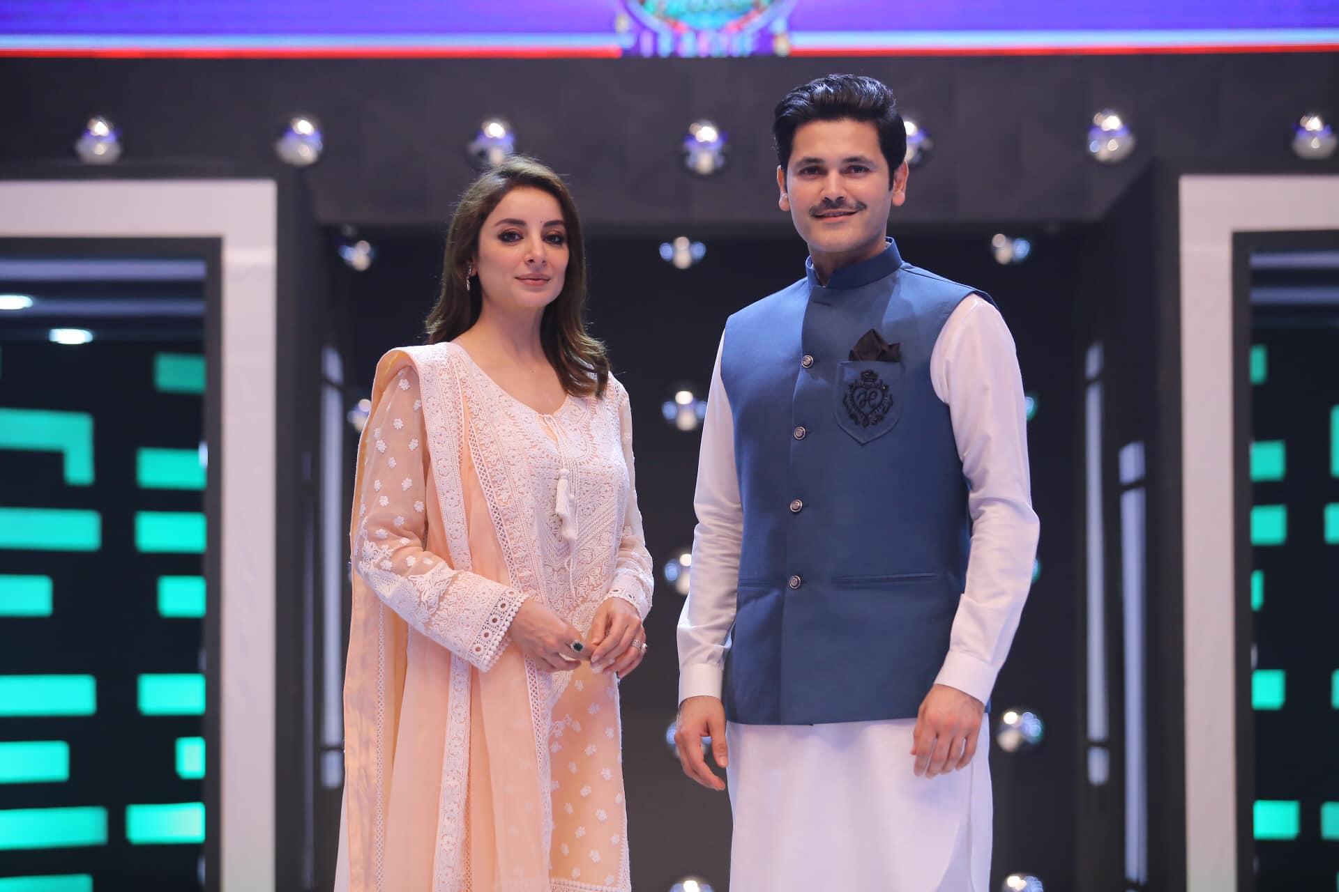Sarwat Gillani and Fahad Mirza Pictures from Jeeto Pakistan