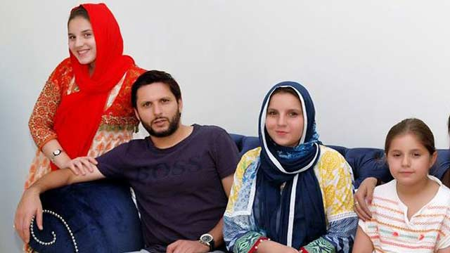 Shahid Afridi Talks About Giving Freedom To Daughters