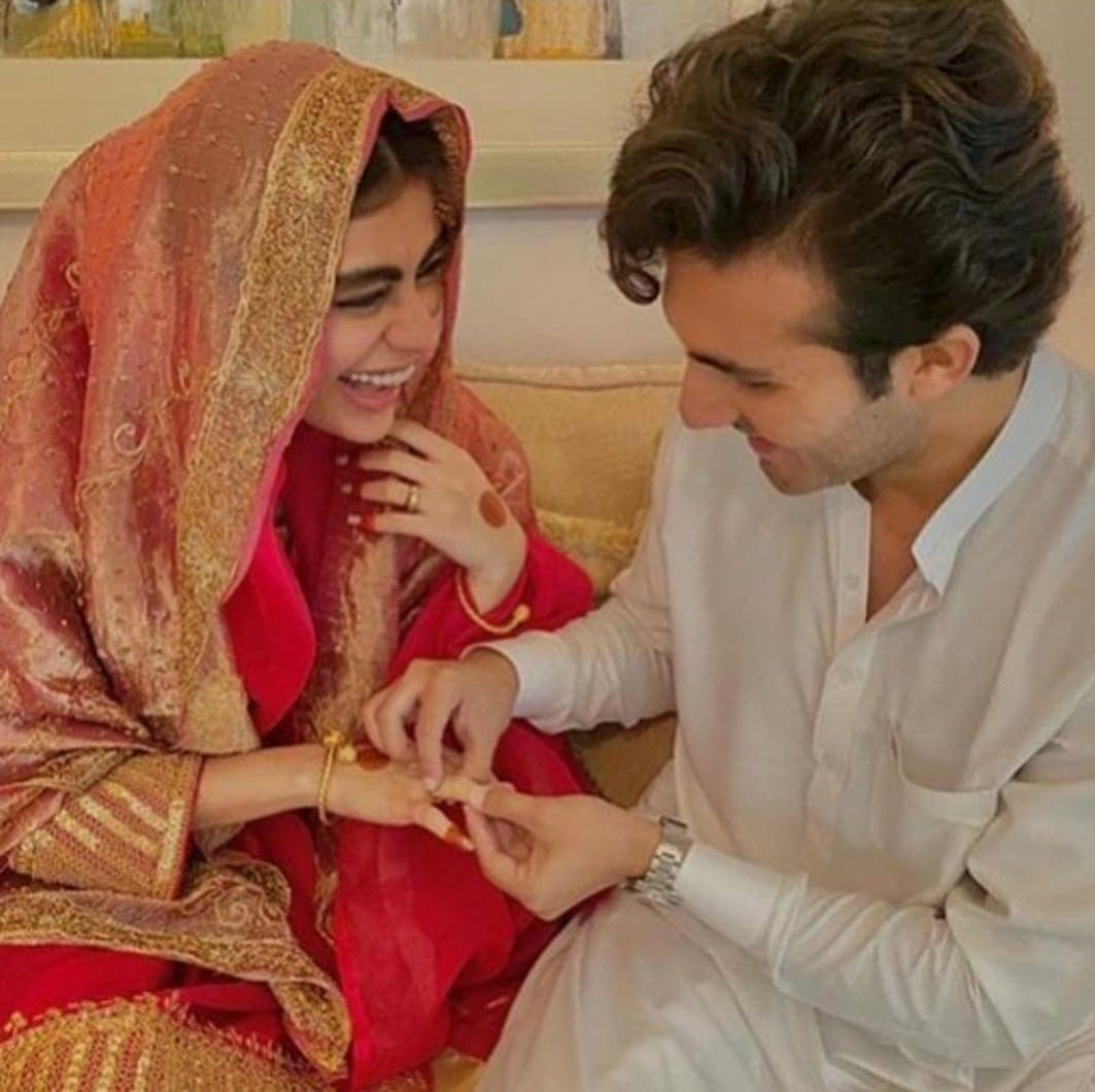 Shehroz and Sadaf Kanwal Nikkah - Some New Pictures | Reviewit.pk