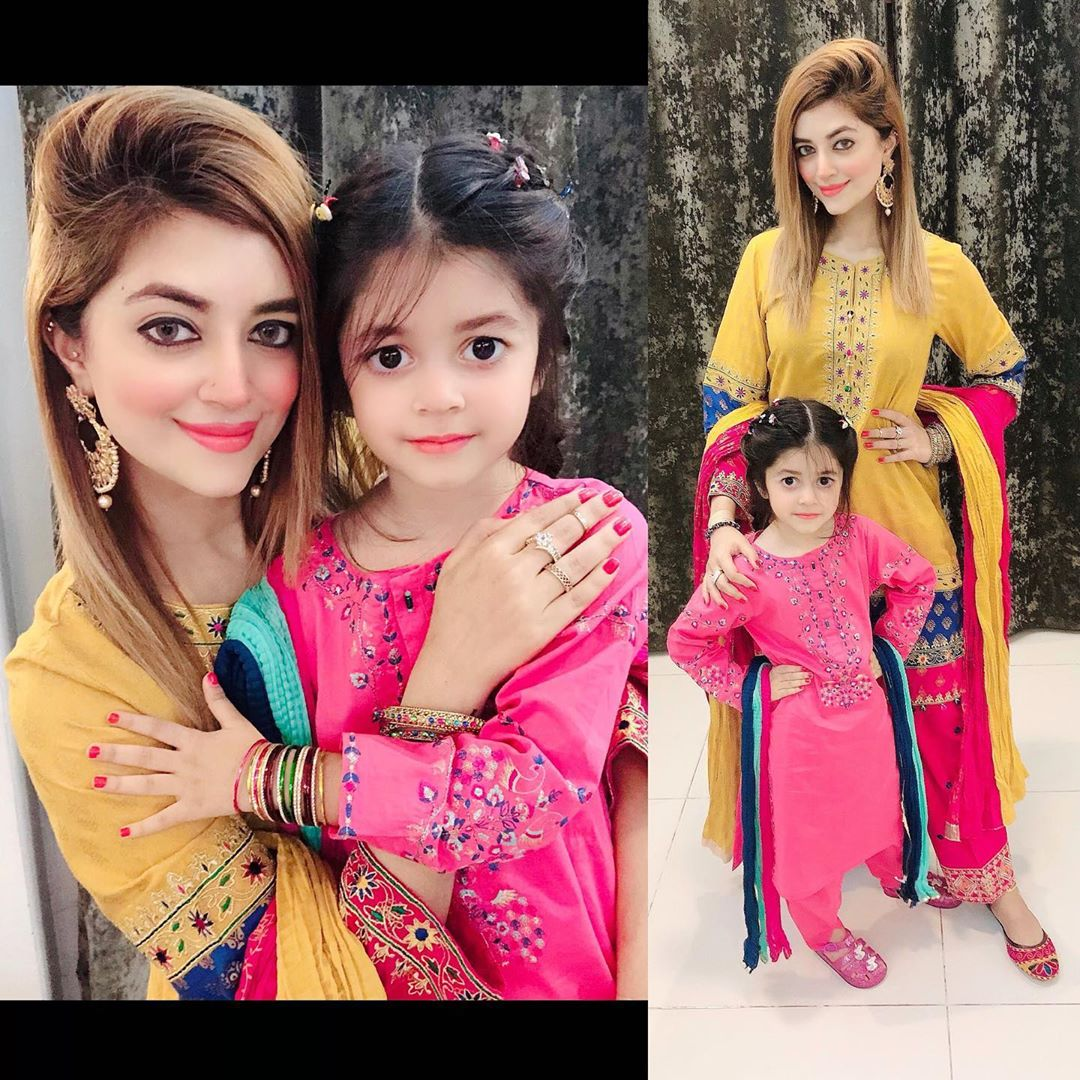 Syed Jibran with Wife Afifa Jibran Eid Pictures with Family