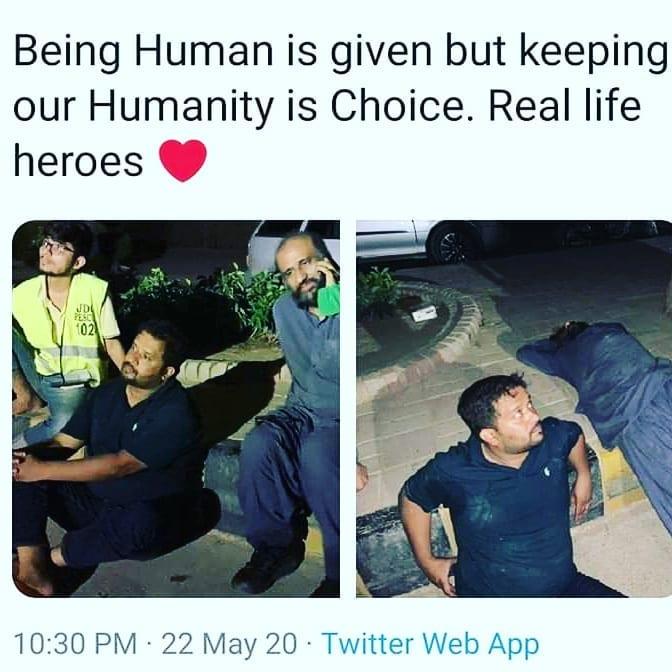 Zafar Abbas And Edhis Work For Humanity 1