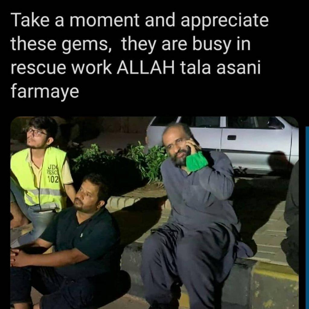 Zafar Abbas And Edhis Work For Humanity 24