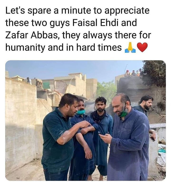 Zafar Abbas And Edhis Work For Humanity 3