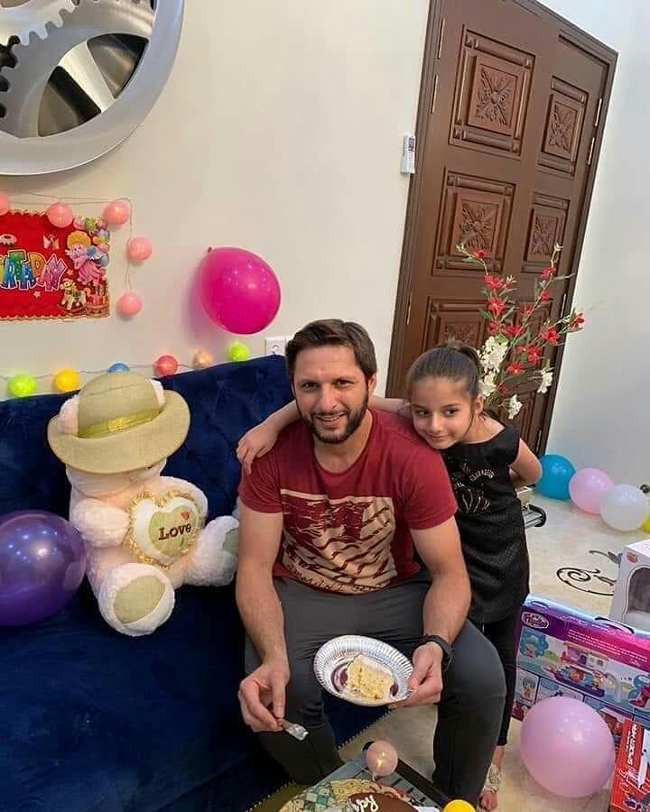 Shahid Afridi Daughter Asmara Afridi Birthday Pictures