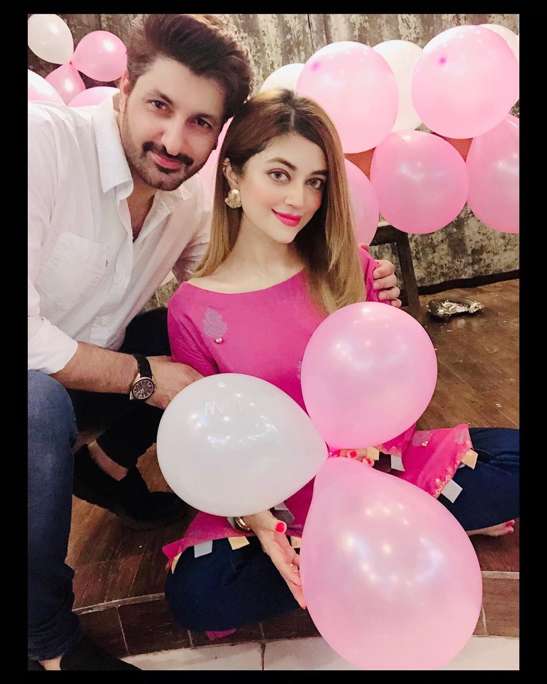 Syed Jibran and Afifa Jibran Daughter Birthday Pictures