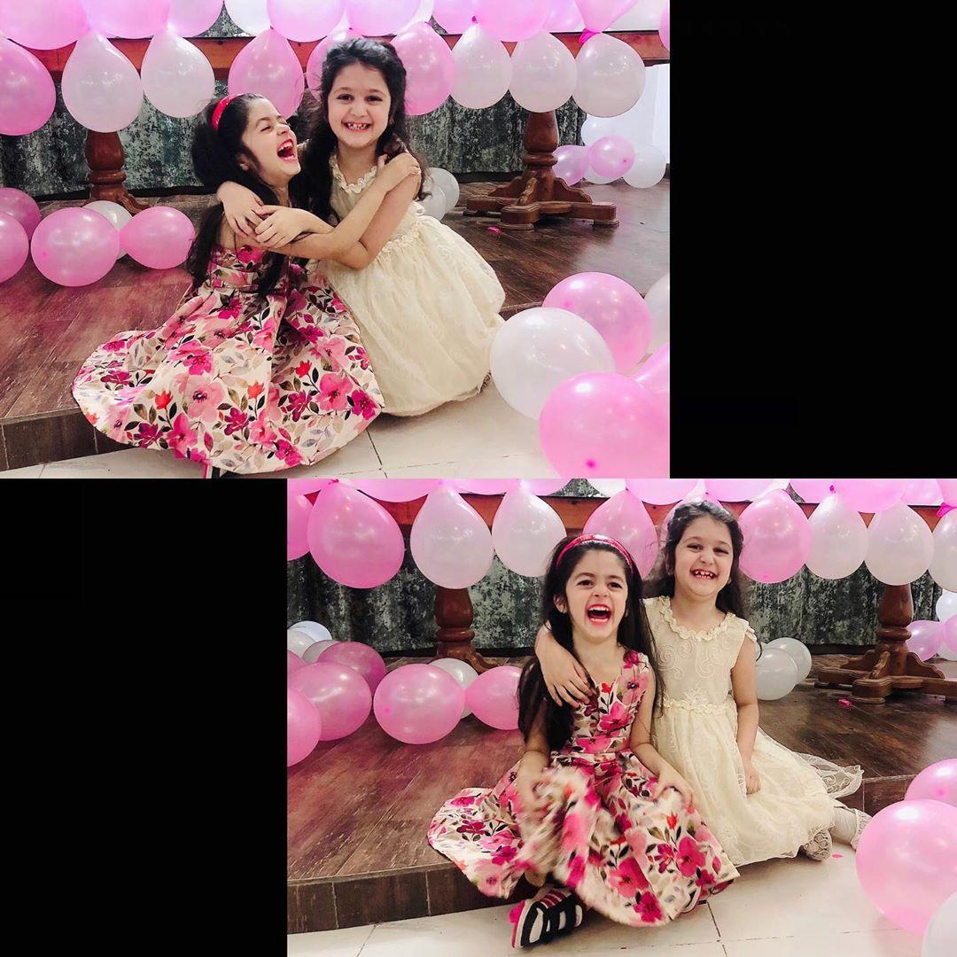 Syed Jibran and Afifa Jibran Daughter Birthday Pictures