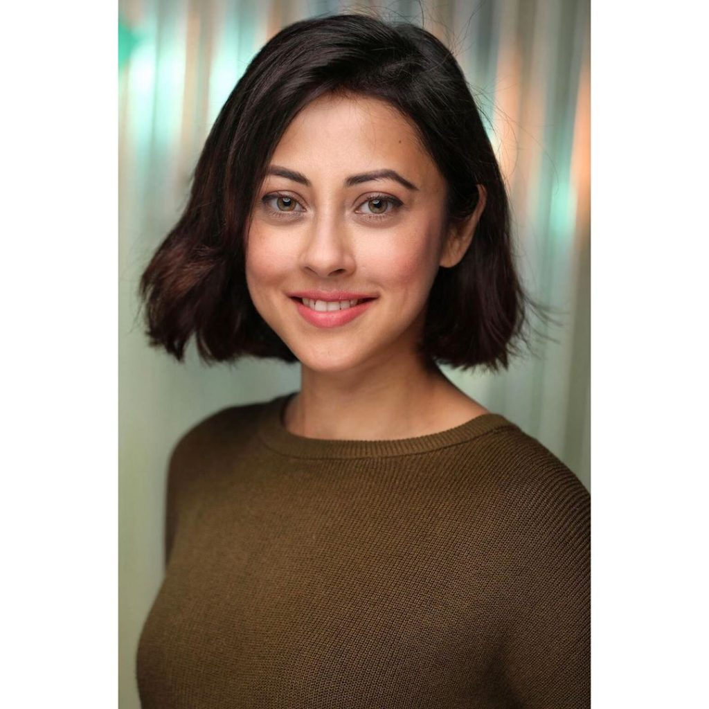 Delightful Pictures Of Ainy Jaffri In Short Hair