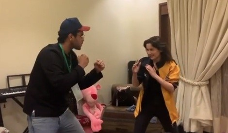 10 Times When Hania Aamir and Asim Azhar were super cute together