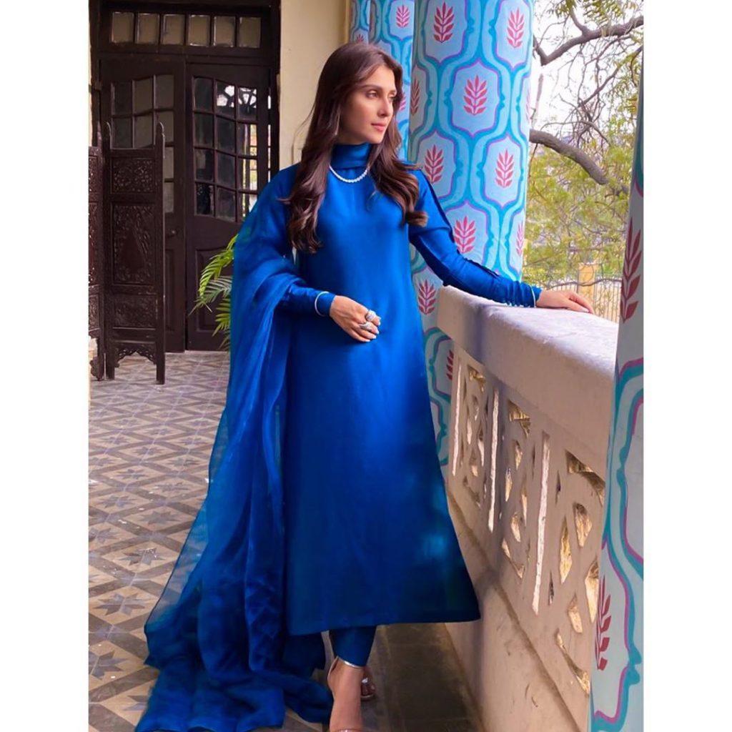 40 Fabulous Eastern Dresses of Ayeza Khan - 2020