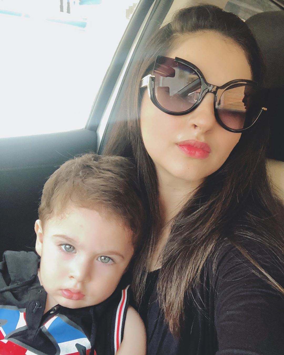 Fatima Effendi Latest Pictures with her Cute Sons Mahbir and Almir