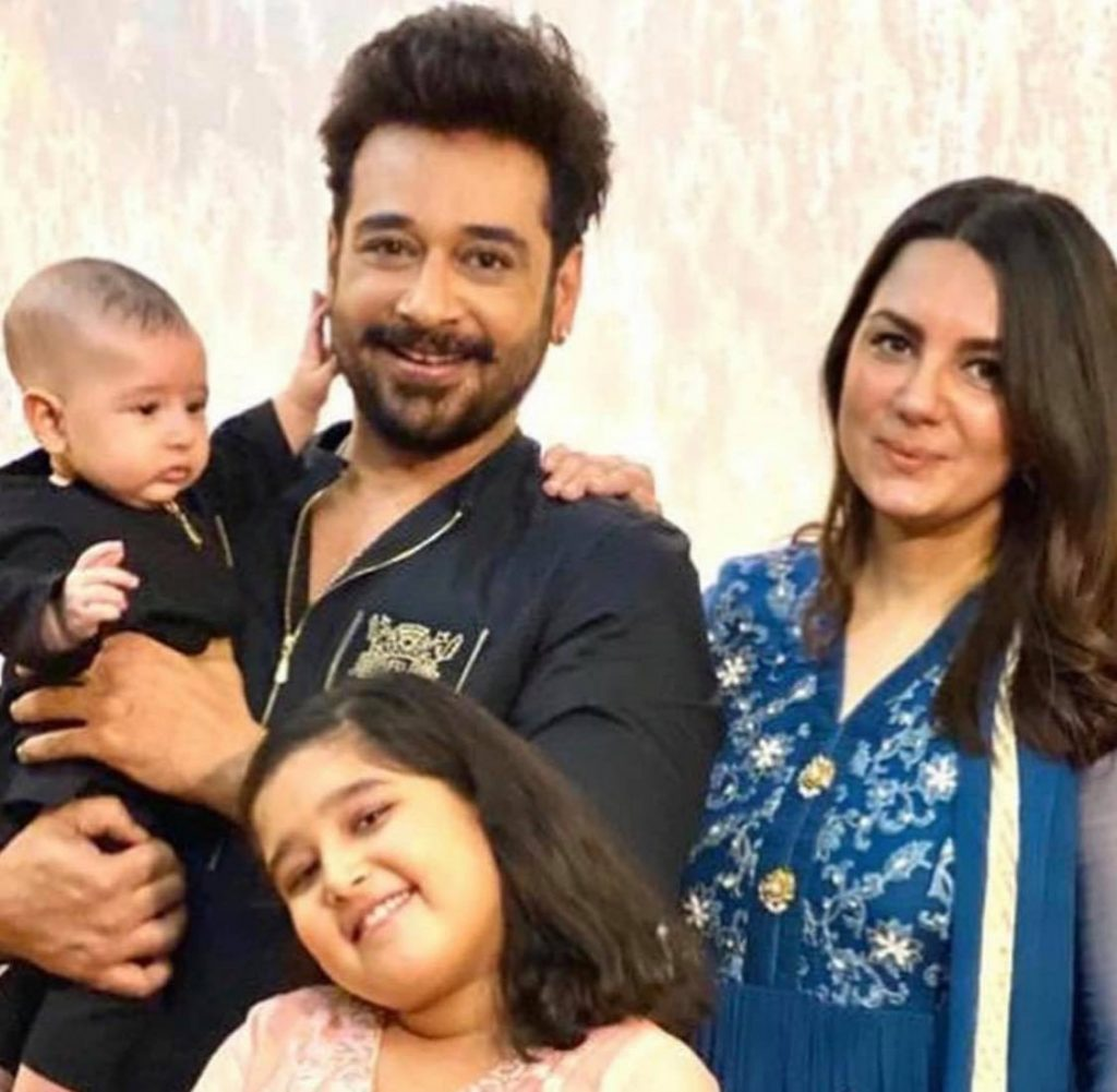 Cutest Video Of Faysal Qureshi With His Son