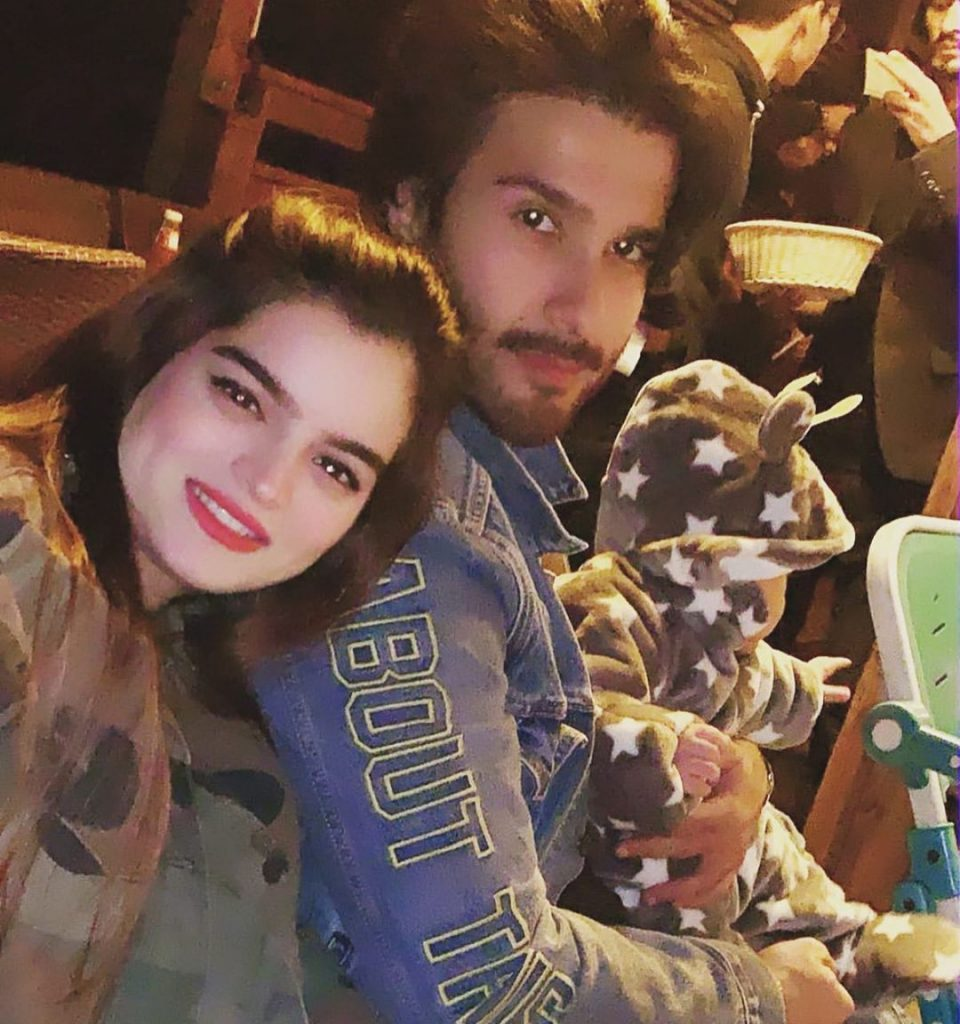 Feroze Khan And His Wife Up For A Ride