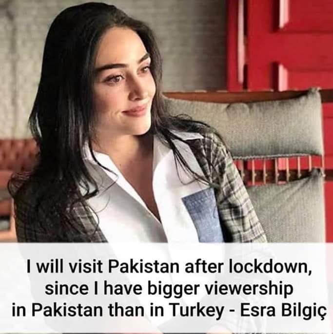 Ertugrul Actress Esra Bilgic Aka Halima Sultan with her Brother Ali Bilgic