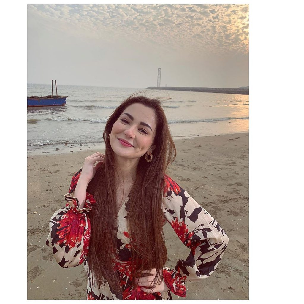 There's A Secret Behind Hania Aamir's Dimple