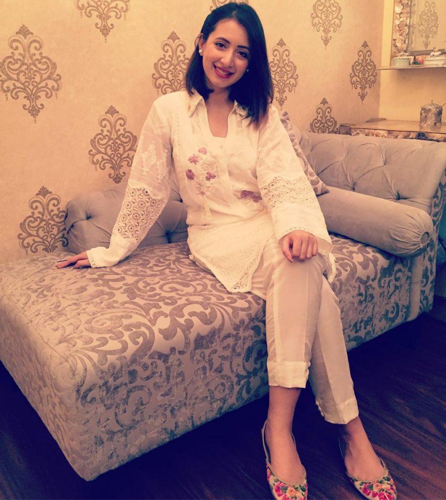 Komal Aziz Khan Loves to Wear White - Here is Why