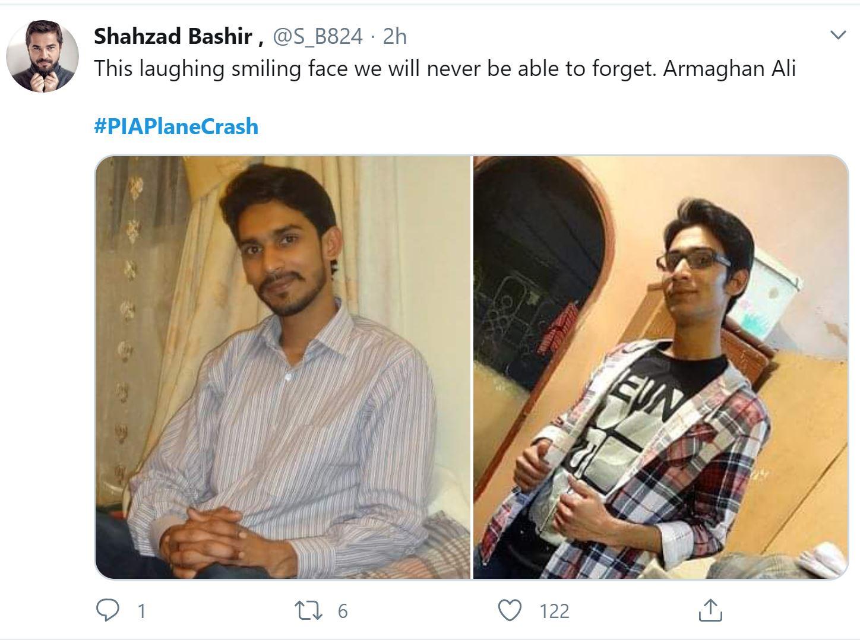 Memories of those who passed away in PIA flight 8303 crash