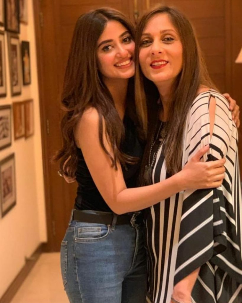 Maamaa Mir Has A Special Message For Daughter In Law, Sajal Aly