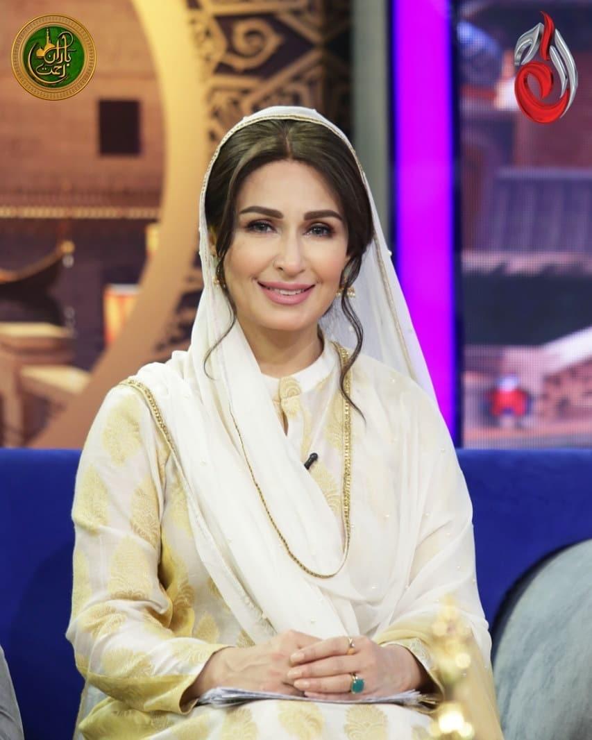 Ali Ansari and Mashal Khan Beautiful Pictures from Reema Khan Ramazan Show
