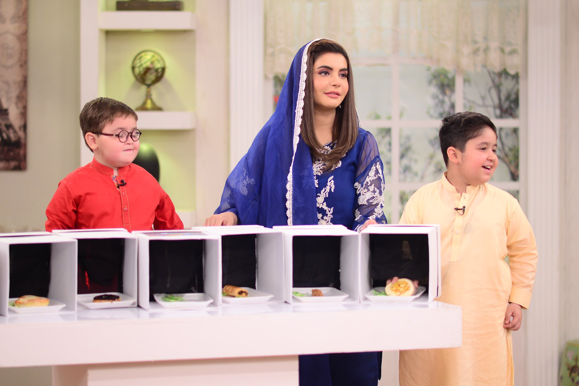 Cute Ahmed Shah Beautiful Pictures from Nida Yasir Morning Show