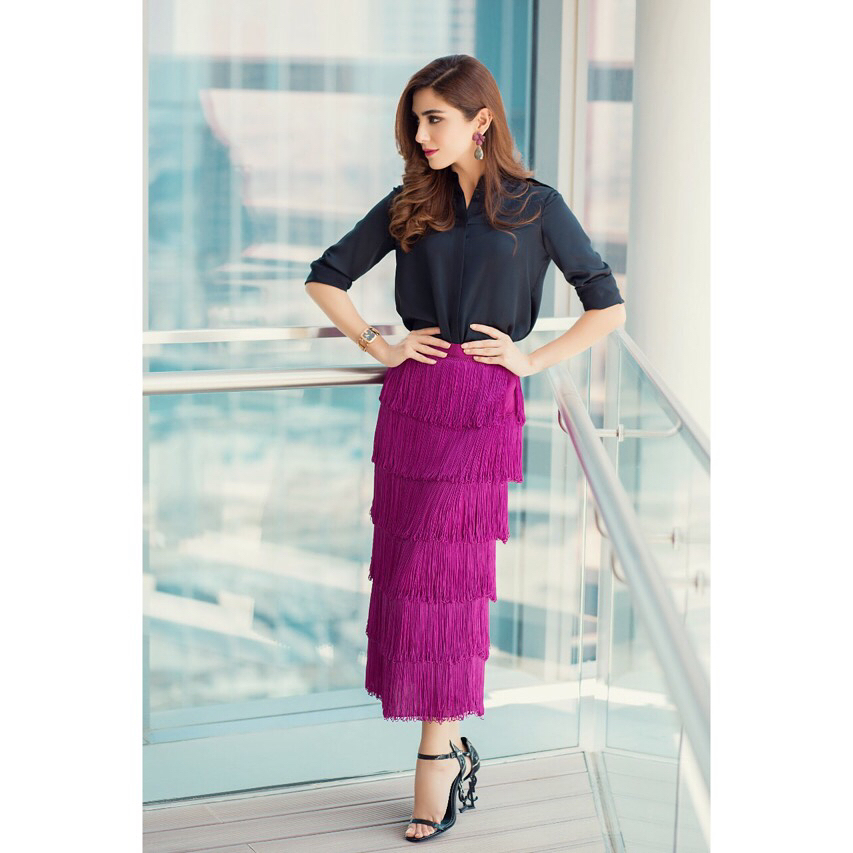 Purple is Maya Ali's Second Favorite Color