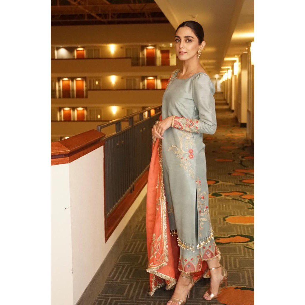Elegant Dresses of Maya Ali that Are Your Eid's Perfect Match!