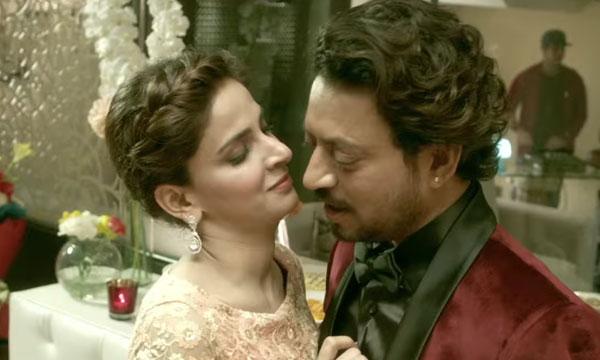 Saba Qamar's Beautiful Moments with Irrfan Khan