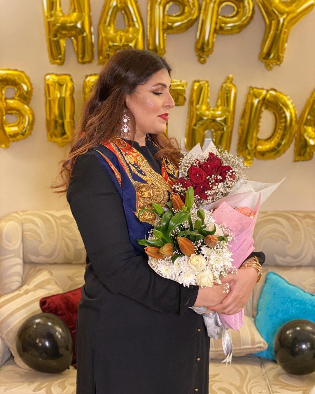 Shagufta Ejaz 49th Birthday - Beautiful Pictures