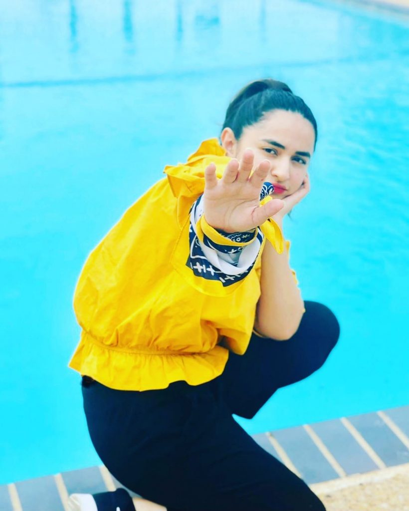 Cute Pictures of Yumna Zaidi in Which She Looks Younger Than Her Age