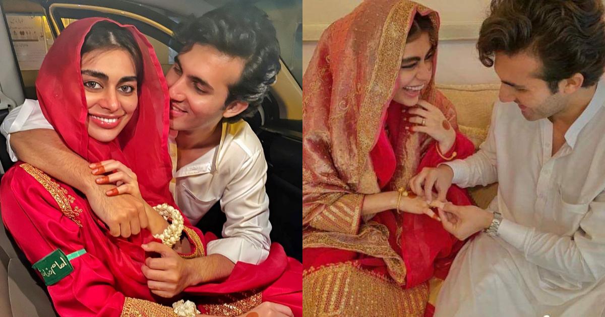 Shahroz Sabzwari & Sadaf Kanwal Got Married One Month Ago