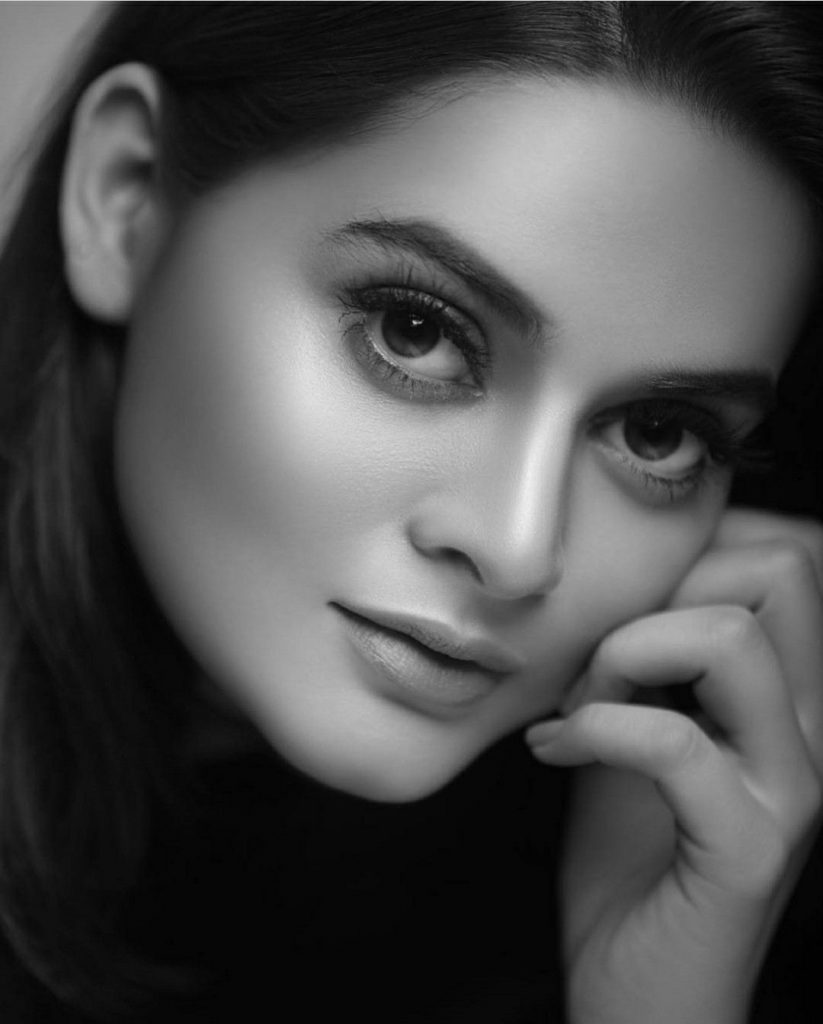 Pakistani Celebrities Slaying in Black and White Pictures - HD Wallpapers