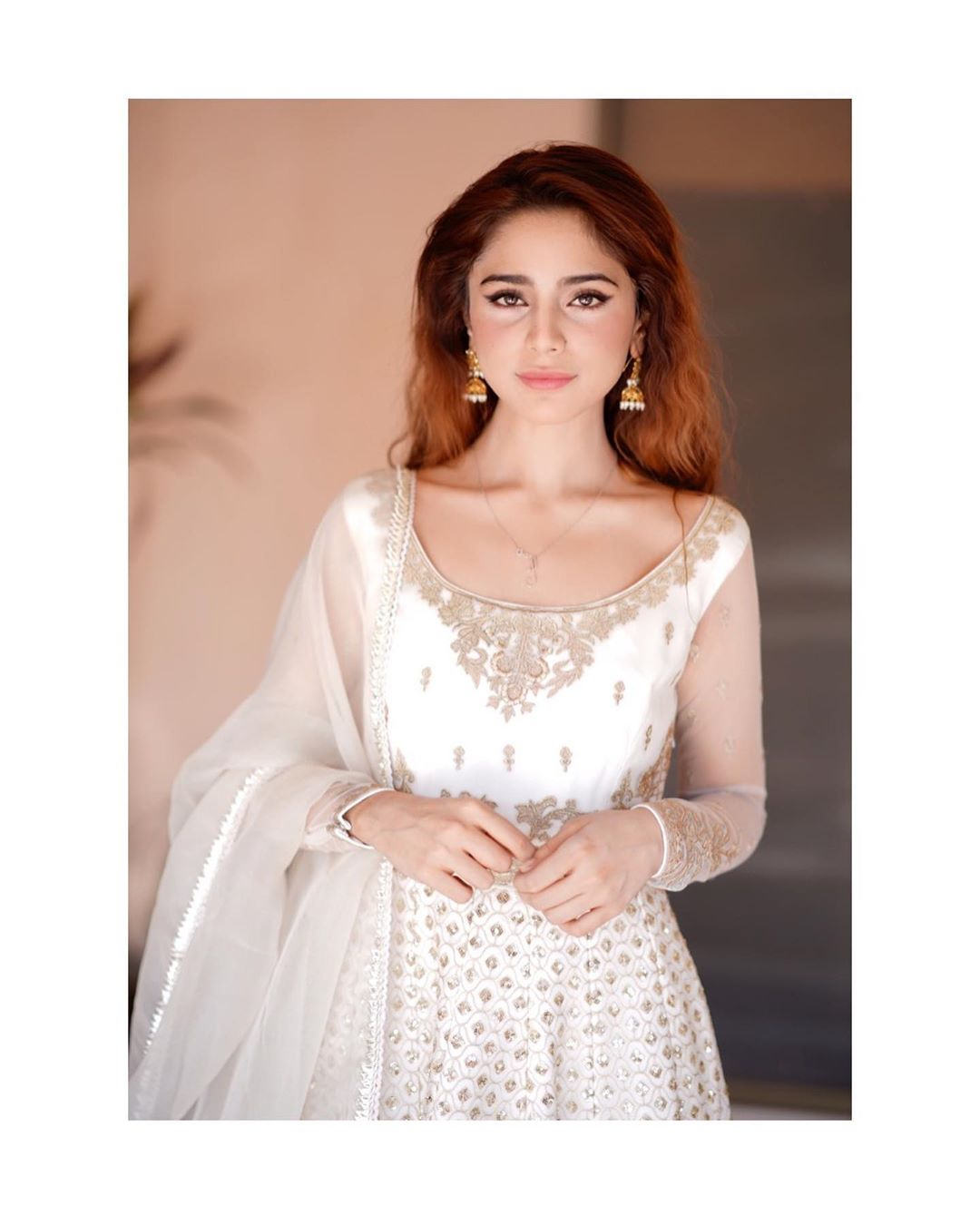 Aima Baig is Looking Gorgeous in this Beautiful White Dress