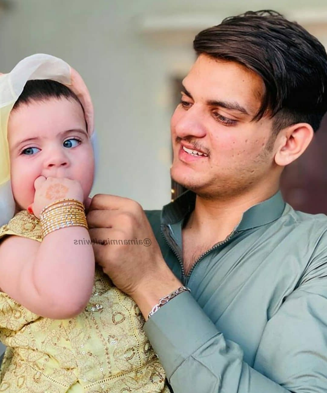 Aiman and Muneeb Daughter Amal Latest Cute Pictures