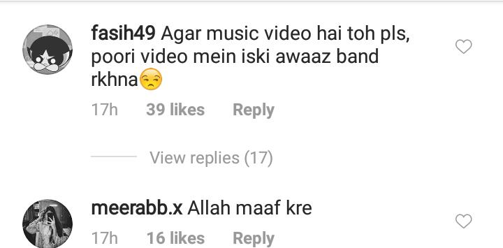 Asim Azhar Under Fire For Featuring Areeqa Haq In Upcoming Song