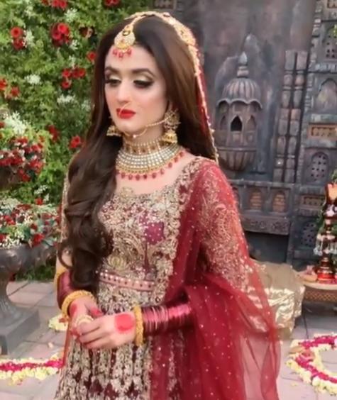 Awesome New Bridal Photoshoot of Hira Mani