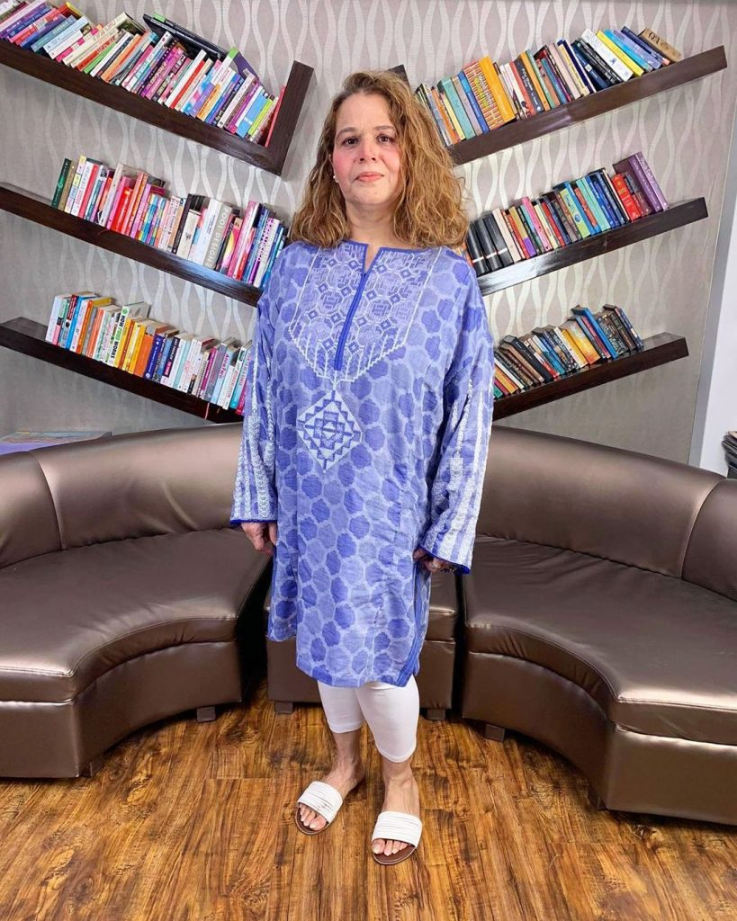 Bushra Ansaris Harsh Comments About Lubna Faryad 16