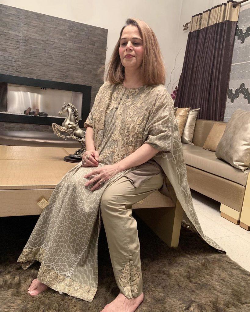 Bushra Ansaris Harsh Comments About Lubna Faryad 3