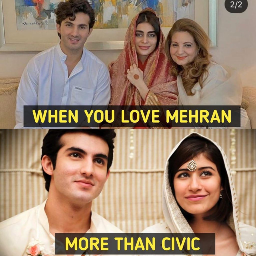 Hilarious Memes on Shahroz, Sadaf Wedding