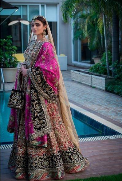 Hira Mani Pakistani Actress Bridal Photo Shoot for Nickie Nina 6